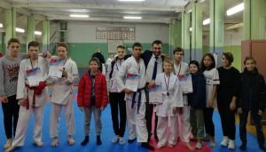 Заркуа Давид Александрович с воспитанниками