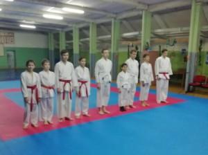 экзамен у воспитанников тренера Заркуа Д.А