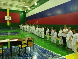 экзамен у воспитанников тренера Кулемина А.А