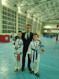 Колобов Никита Викторович со своими призерами